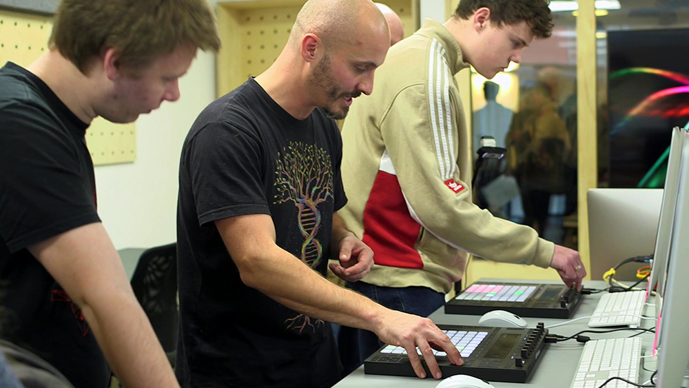 Ableton Push workshops - What to expect at a dBs Open Day