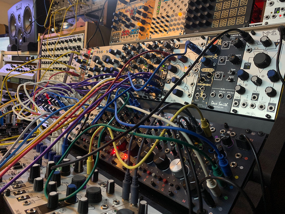 Modular synthesiser for producing out of the box at dBs Insitute