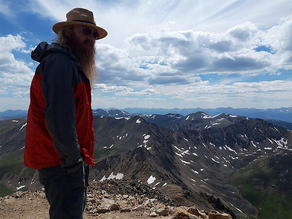 Drew Morgan - Hiking in Colorado