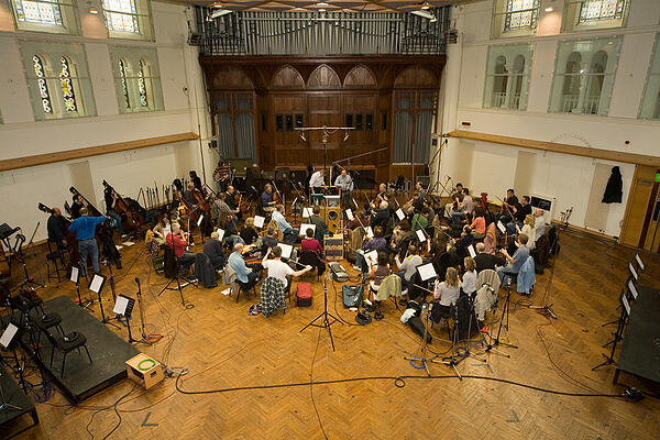 Richard Jacques - recording the orchestra