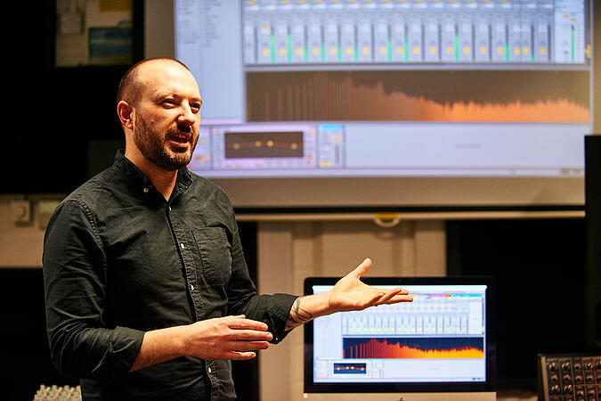Teaching a practical session on Ableton Live - What will my learning experience look like in September?