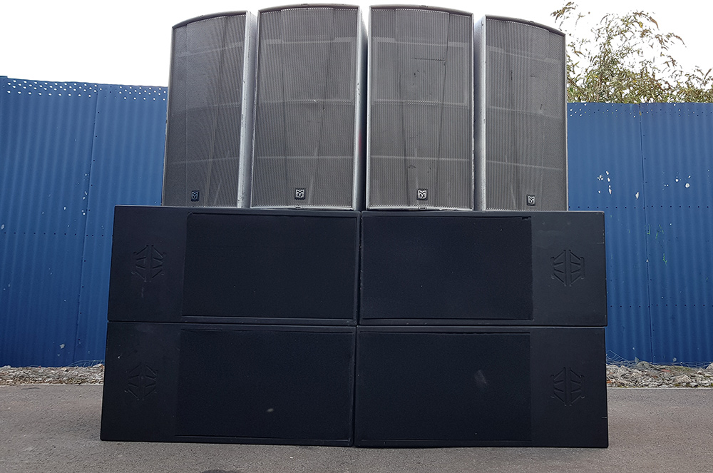 The sound system - Designing a custom sound system with Live Sound student Jake Garland