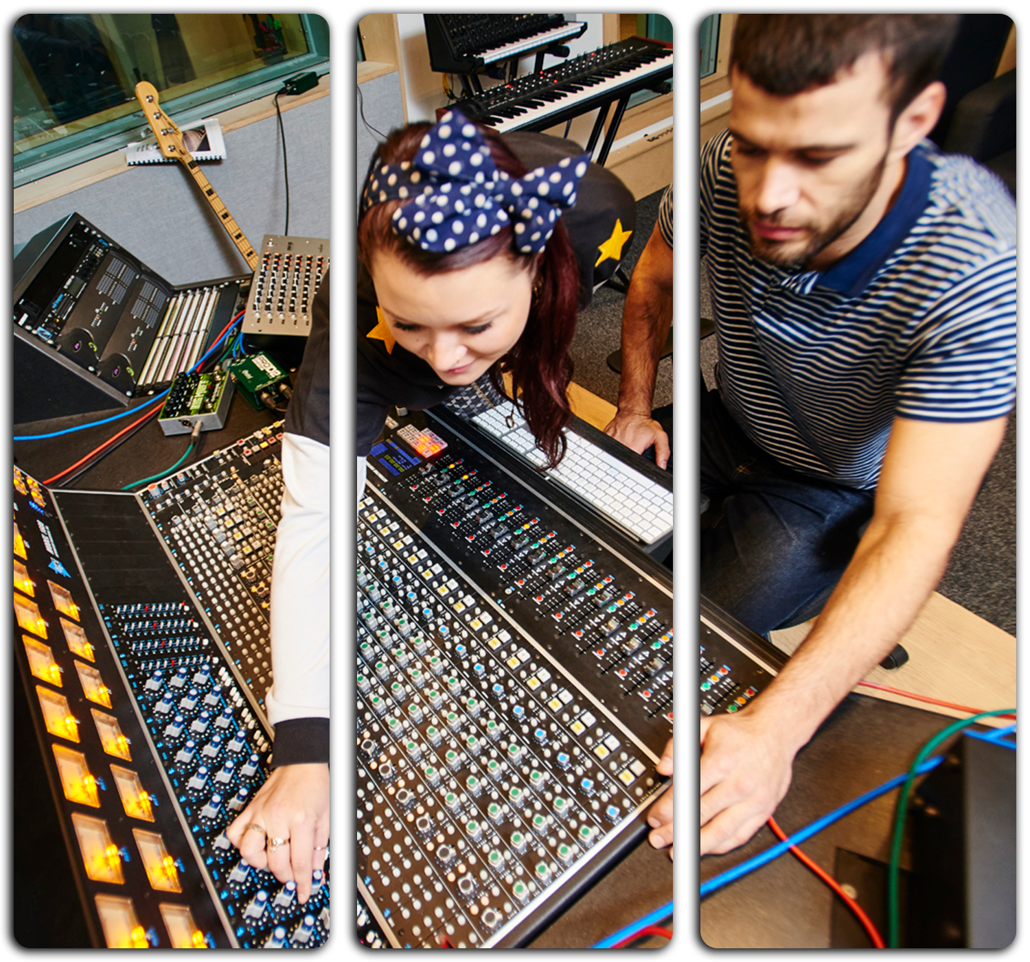 Degree courses in Music Production and Audio Technology | Join us at our next open day on 13th April 2019  to learn more about our music degree courses in Bristol