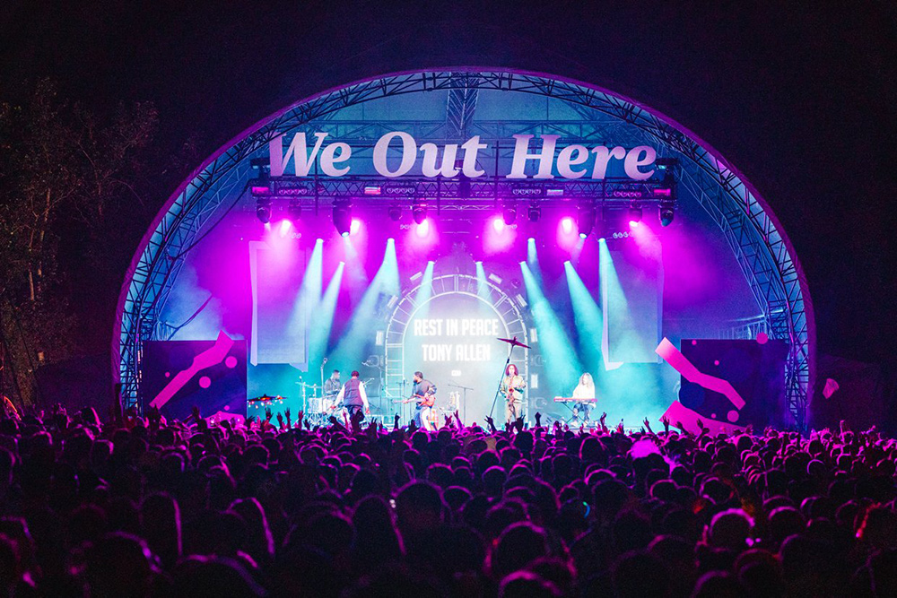 We Out Here festival pic - The deep end - How a dBs graduate found themselves managing a stage at We Out Here festival