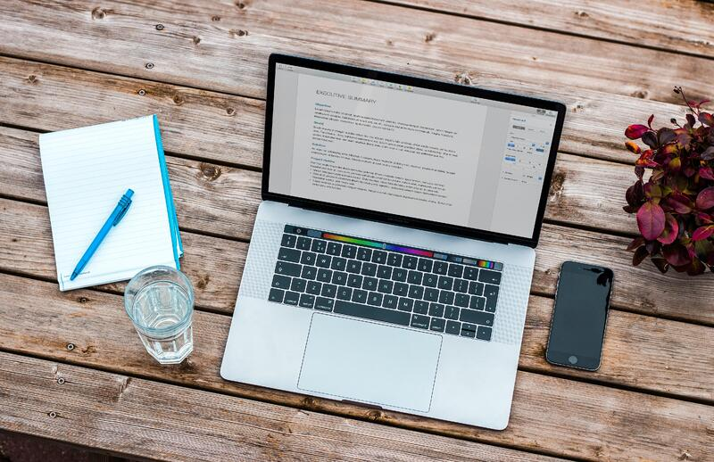 5 ways to stay productive - 3. Work on your CV