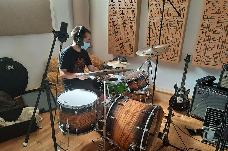 Seed Sessions in the dBs Pro studio
