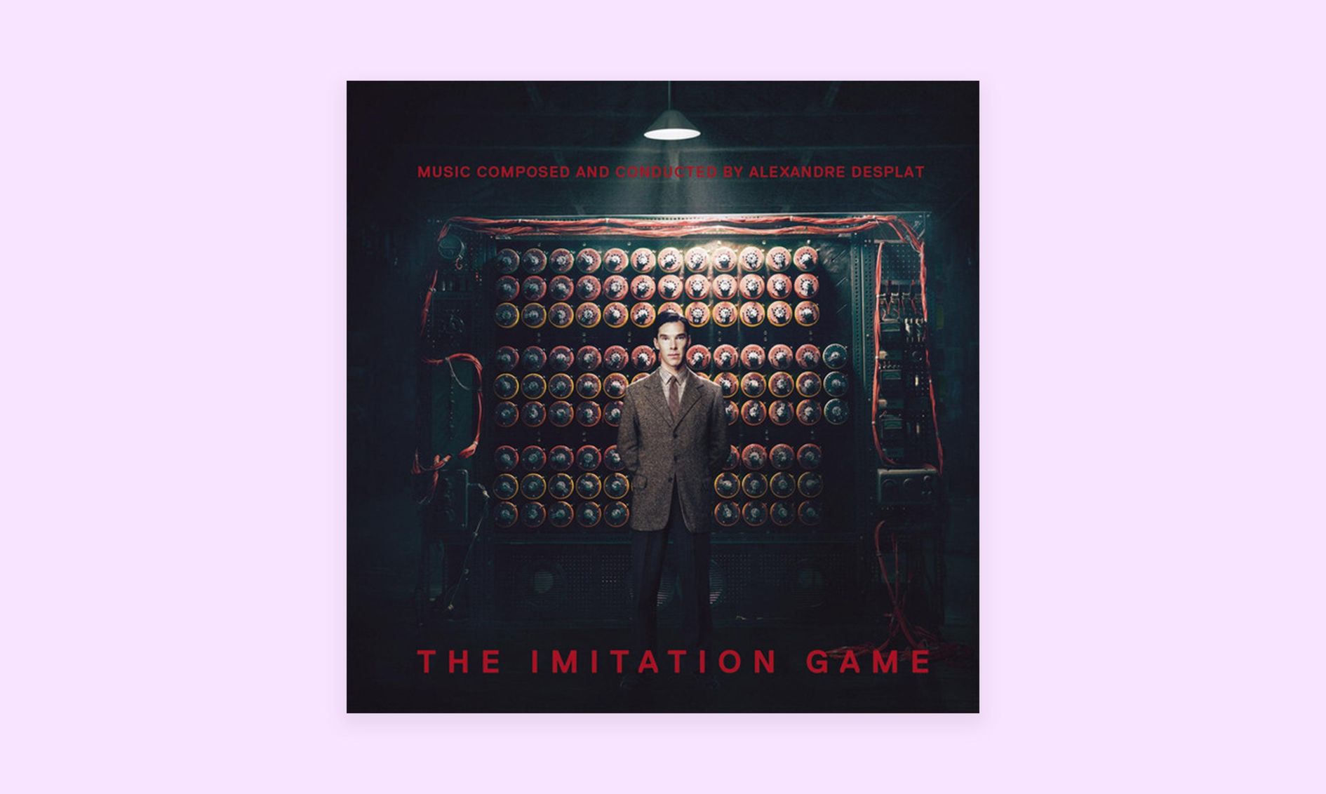 Film scores to help you focus: The Imitation Game
