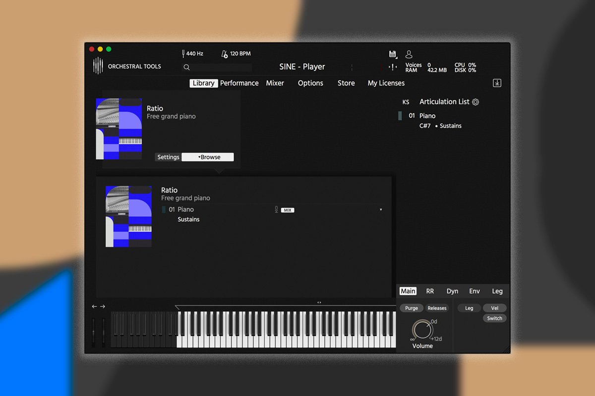 Free Software Friday - Orchestral Tools SINEfactory (Featured Image)